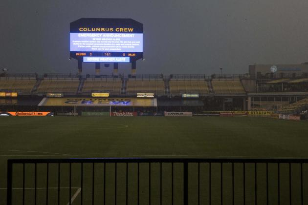 Columbus Crew Match Postponed After Fan Reportedly Struck by Lightning