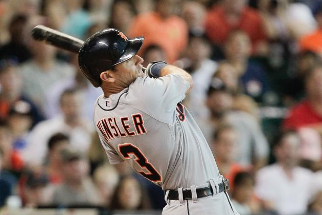 Ian Kinsler saves Tigers with one mighty swing