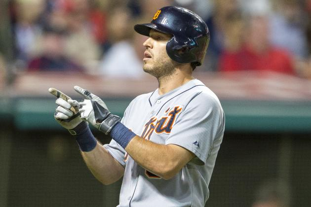 Ian Kinsler's 3-Run Home Run in 9th Lifts Tigers