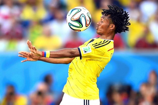 Colombia vs. Uruguay: Switch to 4-2-2-2 Unlocks Cuadrado and James Rodriguez