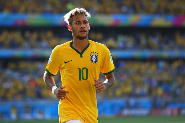 Brazil Coach Luiz Felipe Scolari Hopeful over Neymar World Cup Injury Concerns