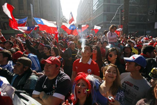World Cup 2014: Chile Can Go Home with Pride After Defeat to Brazil