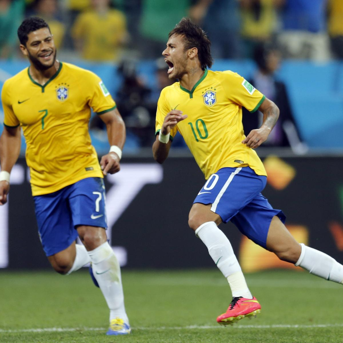 Hulk Brazil Football: Brazil Can Utilise Hulk As No. 9 Vs. Colombia To Offset
