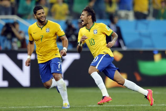 Brazil Can Utilise Hulk as No. 9 vs. Colombia to Offset Possible Neymar Injury