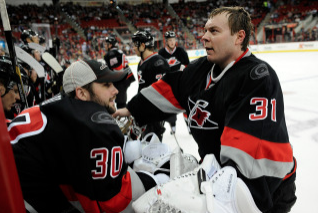 'Canes Plan to Split Net Duty Between Khudobin, Ward
