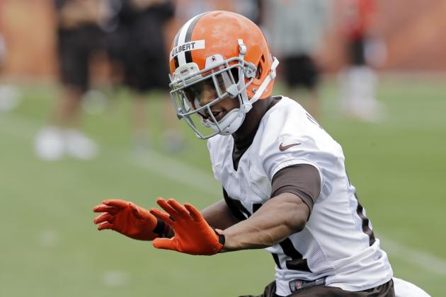Why Isn't Browns Top Pick Justin Gilbert Signed Yet?: Hey Mary Kay!