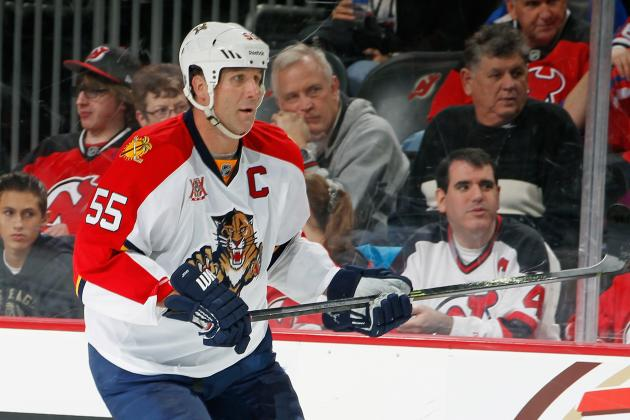 Panthers Put Jovanovski on Waivers to Buy Him out