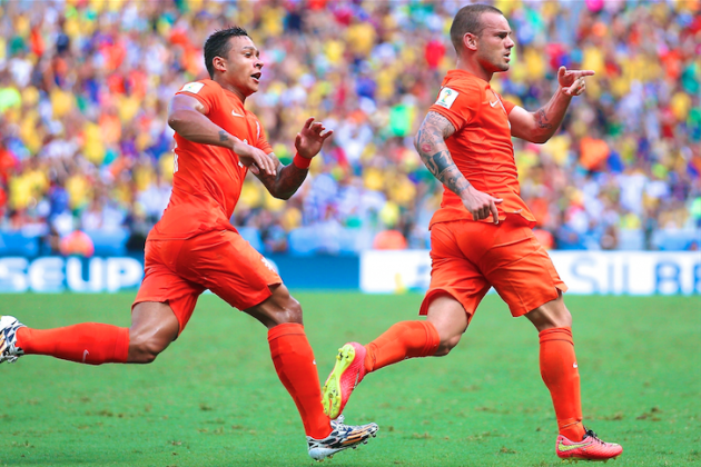 Netherlands vs. Mexico: Live Score, Highlights for World Cup 2014 Round of 16