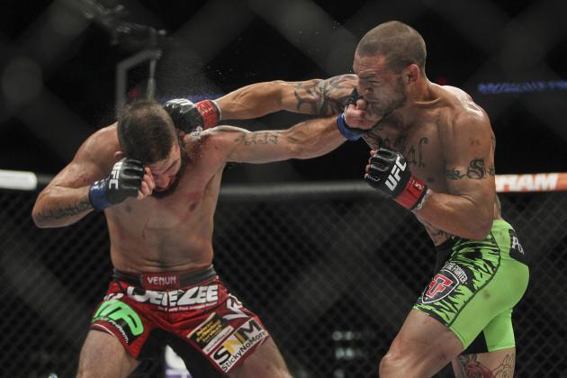 Brasileiros vivem noite de altos e baixos no UFC