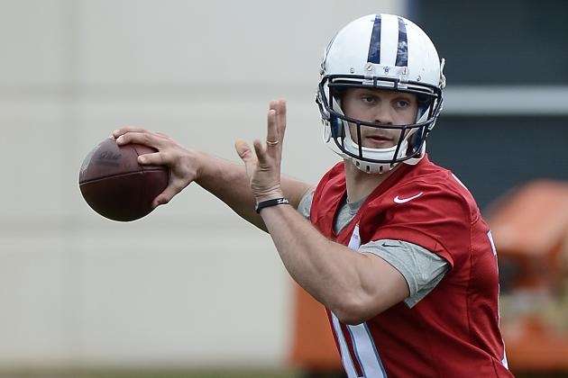 Titans OC: Jake Locker 'Worked Butt Off' to Be Ready