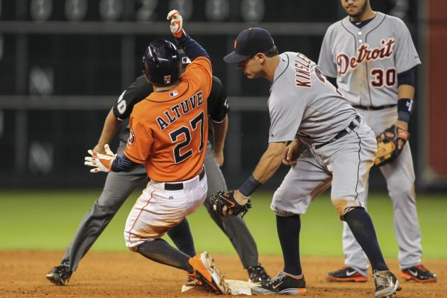Feldman, Altuve Lead Astros over Tigers 6-4