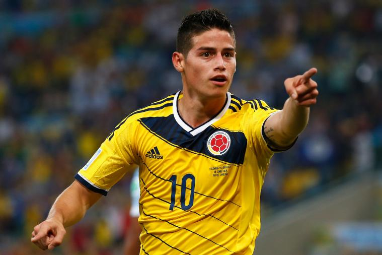 World Cup Paper Review: Manchester United Turned Down £5m James Rodriguez