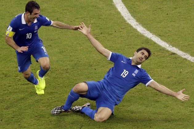 Twitter Reacts to Kostas Mitroglou, Sokratis' Performances vs. Costa Rica