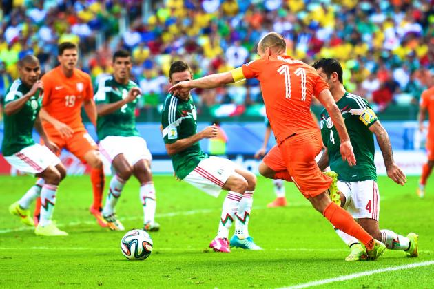Arjen Robben Apologises for Diving vs. Mexico, Says He Was Fouled for Penalty