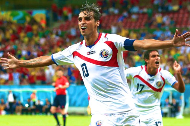 Costa Rica vs. Greece: Live Score, Highlights for World Cup 2014 Round of 16