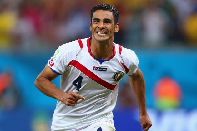 Greece vs. Costa Rica: Live Player Ratings