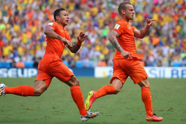 Sneijder, Robben and Huntelaar Change the Netherlands' Fortunes Against Mexico