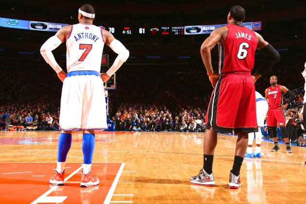 Phoenix Suns Pairing LeBron James and Carmelo Anthony a Total Pipe Dream