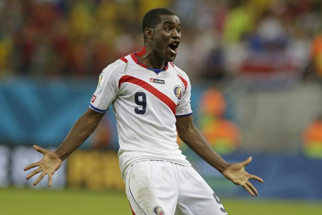 Joel Campbell Leading from the Front as Costa Rica's World Cup Success Continues