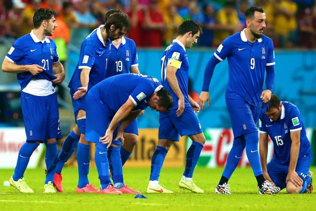 No Surprises as Greece's Achilles' Heel Costs Them Further World Cup Progress