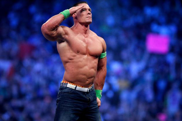 John Cena Wins WWE World Heavyweight Championship Ladder Match