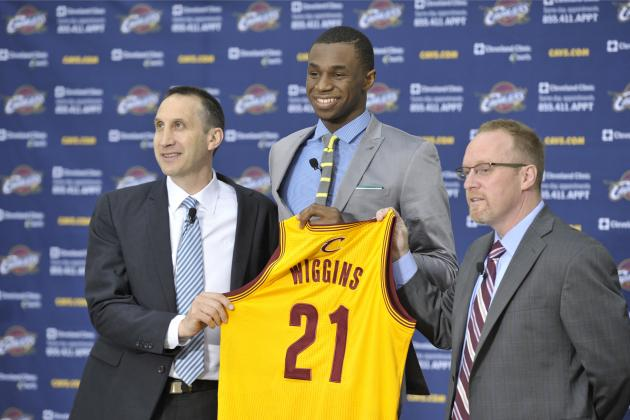 Realistic Expectations for Andrew Wiggins' Rookie Year with Cleveland Cavaliers