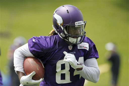 Mike Singletary Thinks Cordarrelle Patterson Will Be a Superstar