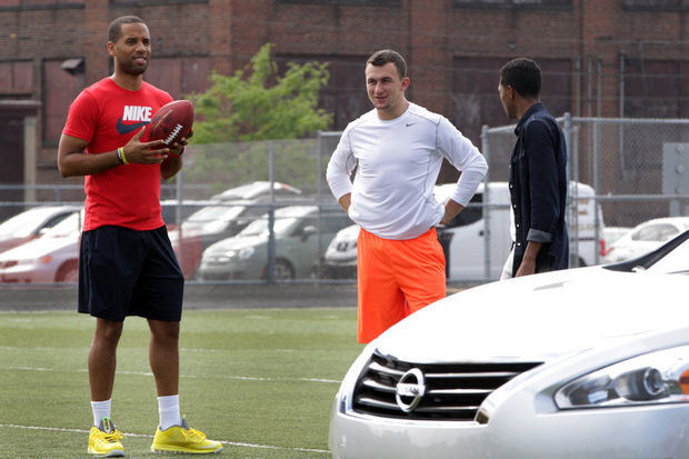 Johnny Manziel's Association with LeBron James and Maverick Carter...