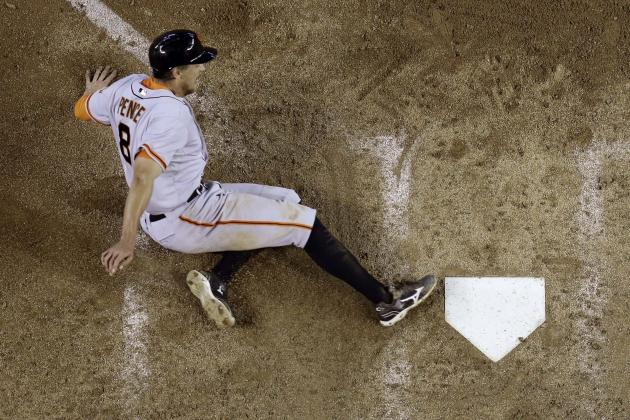 San Francisco Giants: 5 Takeaways from Hunter Pence's 1st-Half Performance