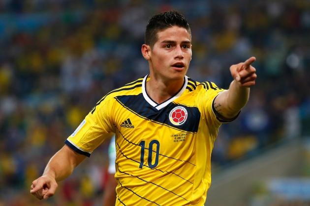 James Rodriguez Was Overlooked by Manchester United for Bebe Transfer