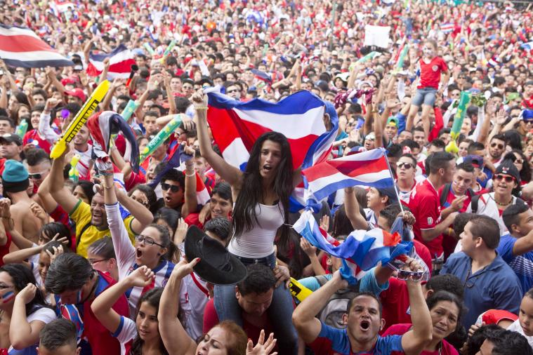 Costa Rica's Penalty Win to Reach World Cup Quarter-Final Sent Nation Wild