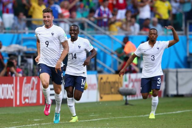 World Cup Bracket 2014: Round-of-16 Odds and Predictions for Day 19