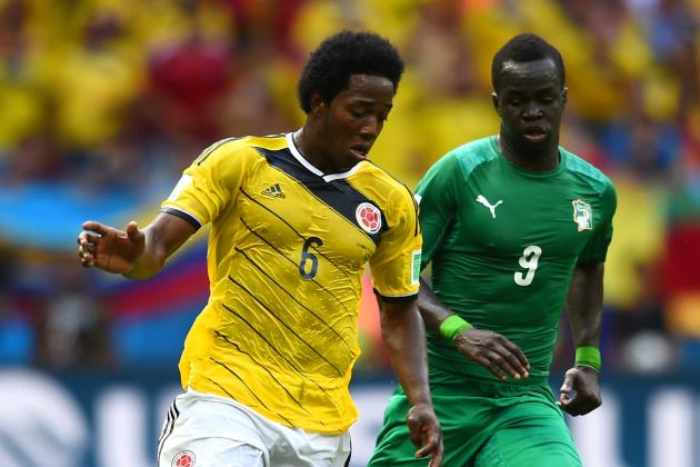 Carlos Sanchez Is Colombia's Unsung Hero at Brazil 2014