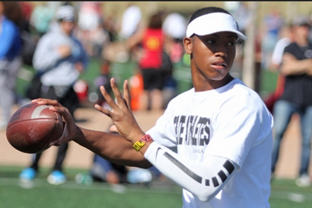 No Clear Answer at QB for Notre Dame's 2015 Recruiting Class