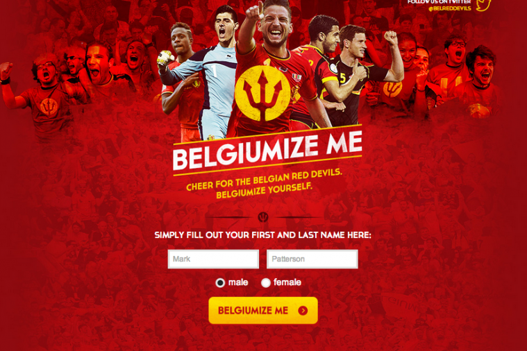 Belgium Want You to Become Red Devils Fans, Help You Pick a Belgian Name