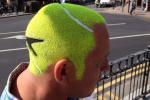 Tennis Ball Head Invades Wimbledon