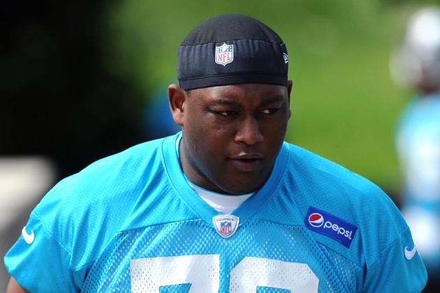 Former Blazer Kugbila Fighting to Get on Field for Panthers