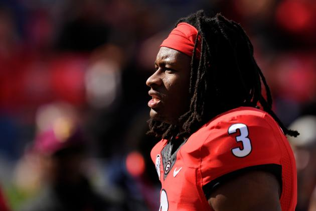 Ex-UGA RB Favors Knowshon Moreno over Todd Gurley