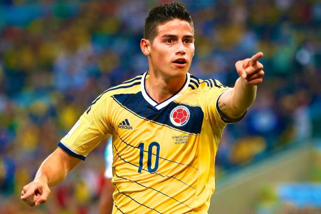 Collymore's World Cup Corner: James Rodriguez and Mario Goetze My Stars so Far