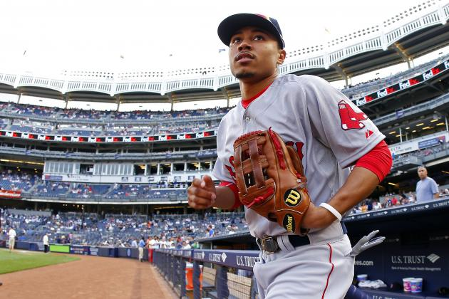 Fantasy Alert: Mookie Betts Is Up, and You Want Him