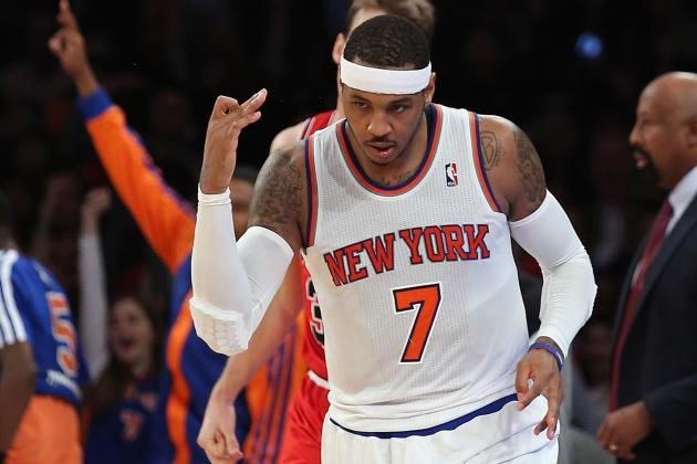 It's Carmelo Anthony or Nothing for Chicago Bulls' Offseason