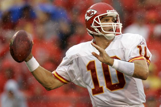 A Quick Comparison of Trent Green and Alex Smith