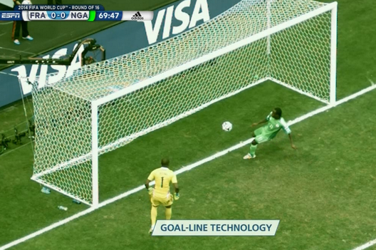 Nigeria's Victor Moses Denies France's Karim Benzema with Incredible Clearance