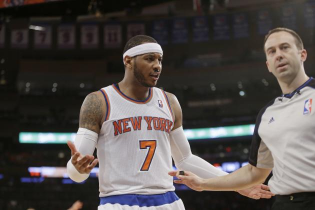 NBA Trade Rumors: Latest on Carmelo Anthony, Jeremy Lin, James Harden and More