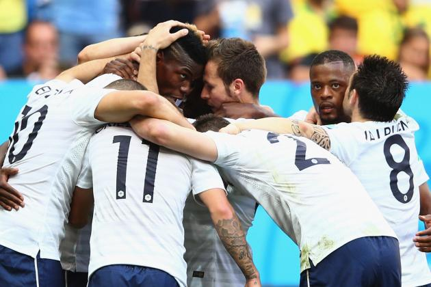 France vs. Nigeria: Full Player Ratings