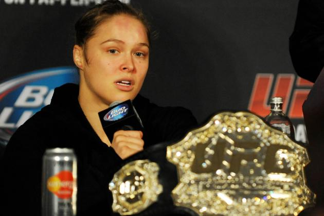 Ronda Rousey: 'I'd Like to Fight Again on New Year's'
