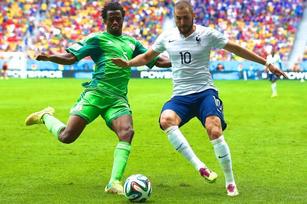 France vs. Nigeria: Moving Benzema into No. 9 Role Unlocks Les Bleus' Firepower