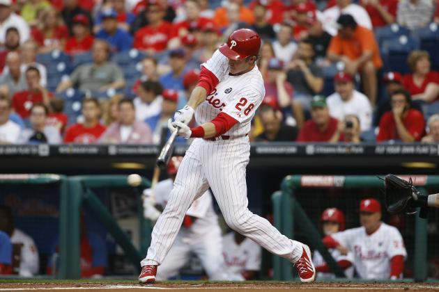 Phillies' Chase Utley Becomes 12th Player in Franchise History with 1500 Hits