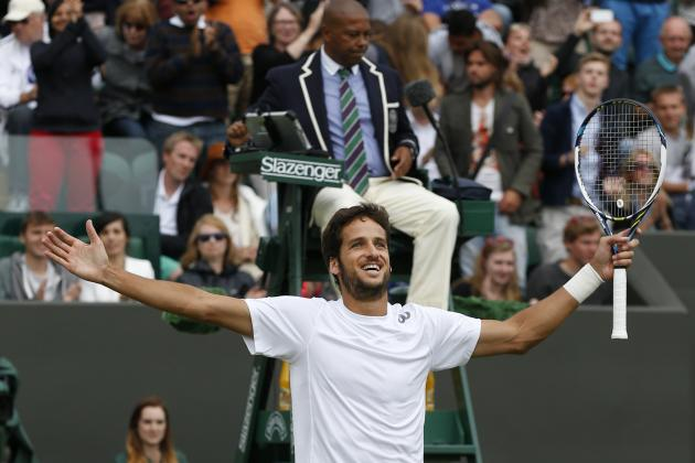 Wimbledon 2014 Results: Highlighting Noteworthy Day 7 Scores from London