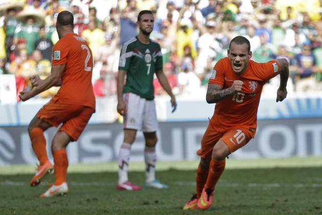 Wesley Sneijder Now Tied for 2nd-Most World Cup Goals in Dutch History